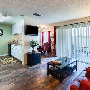 Model Unit Living room